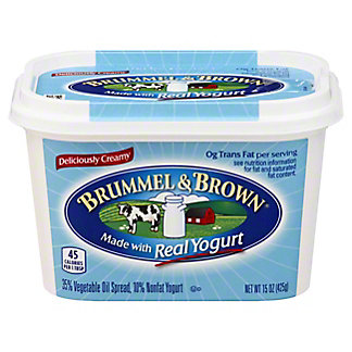 Brummel & Brown Vegetable Oil Spread with Yogurt, 15 oz