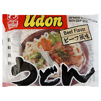 Myojo Beef Flavor Japanese Style Udon Noodles With Soup Base, 7.22 oz
