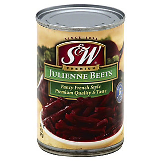 S & W Julienne Cut French Style Beets,15.00 oz