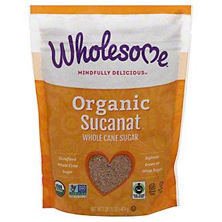 Wholesome Organic Sucanat Sweetener, 16 oz