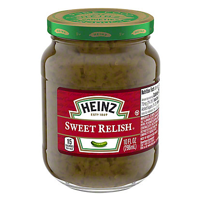 Heinz Sweet Relish,10 OZ