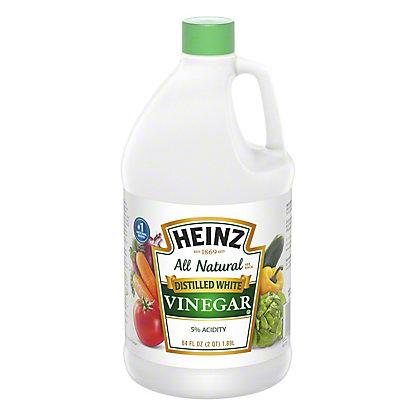 Heinz Distilled White Vinegar,64 OZ