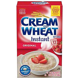 Cream of Wheat Instant Original Flavor Hot Cereal, 12 ea