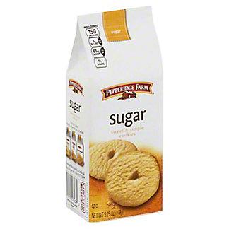 Pepperidge Farm Sweet and Simple Sugar Cookies, 5.25 oz