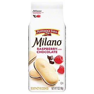 Pepperidge Farm Milano Raspberry Chocolate Cookies,7 OZ