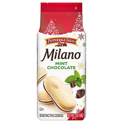 Pepperidge Farm Milano Mint Chocolate Cookies,7 OZ