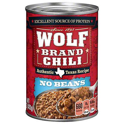 Wolf No Beans Chili, 15 oz