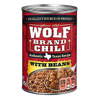 Wolf Chili With Beans, 15 oz