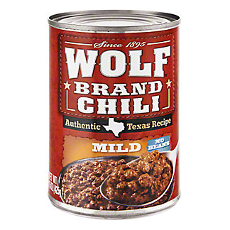 Wolf Mild No Beans Chili,15 OZ