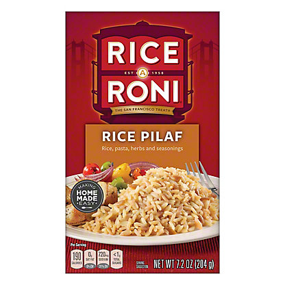 Rice A Roni Rice Pilaf, 7.2 oz