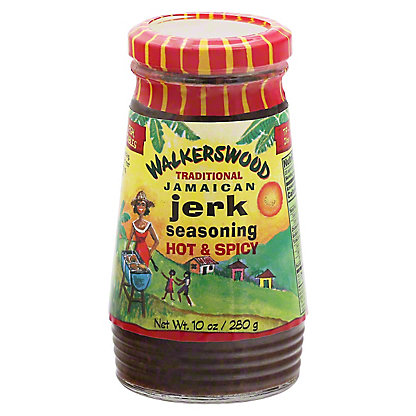 Walkerswood Hot and Spicy Jamaican Jerk Seasoning,10.00 oz