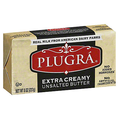 Pulgra Pulgra European Style Unsalted Butter,8 oz