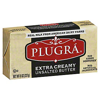 Plugra European Style Unsalted Butter,8 oz