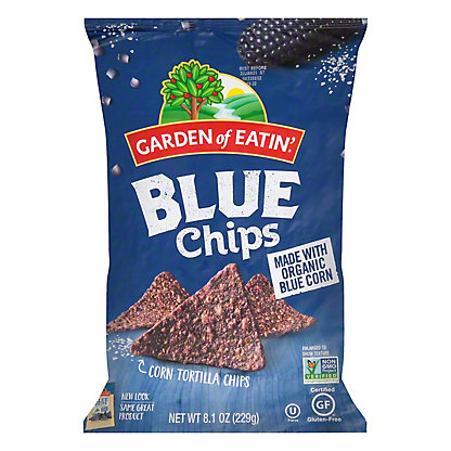 Garden of Eatin Blue Corn Tortilla Chips, 9 oz