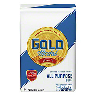 Gold Medal Enriched Bleached Presifted All Purpose Flour,5 LB