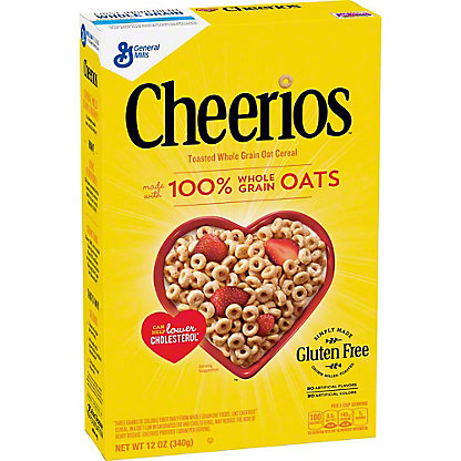 General Mills Cheerios Cereal, 12 oz