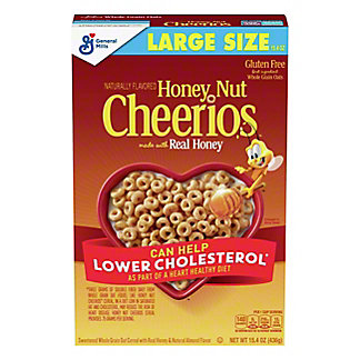 General Mills Honey Nut Cheerios Cereal, 17 oz