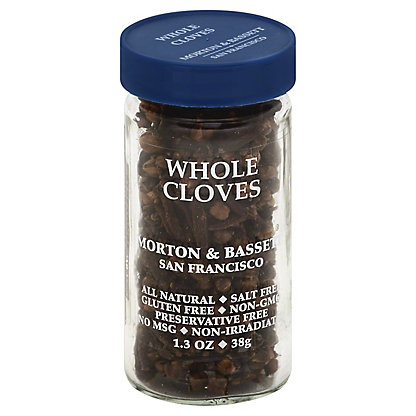 Morton & Bassett Cloves, Whole,1.3 OZ