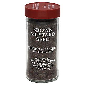 Morton & Bassett Brown Mustard Seed, 2.7 oz