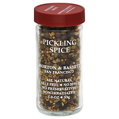 Morton & Bassett Spice, Pickling, 2.2 oz