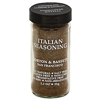 Morton & Bassett Seasoning, Italian,1.5 OZ