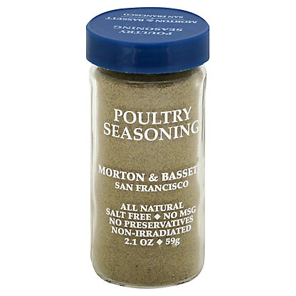 Morton & Bassett Seasoning, Poultry,2.1 OZ
