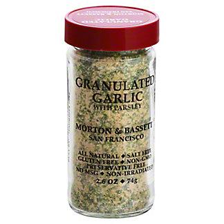 Morton & Bassett Granulated Garlic With Parsley,2.6 OZ