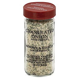 Morton & Bassett Granulated Onion With Parsley,2.3 OZ