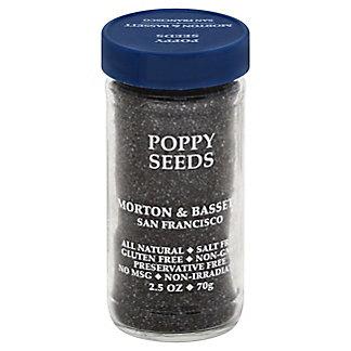 Morton & Bassett Poppy Seeds,2.5 OZ