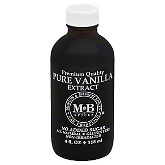 Morton & Bassett Pure Vanilla Extract,4.00 oz