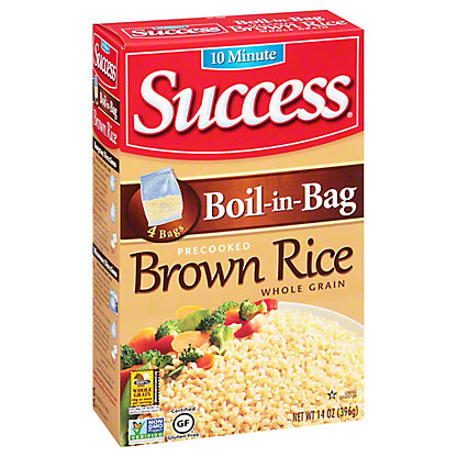 Success Boil-in-Bag Brown Rice, 14  oz