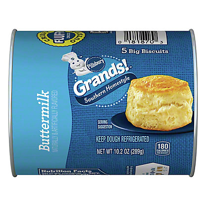 Pillsbury Grands! Southern Homestyle Buttermilk Biscuits, 5 ct