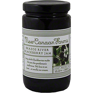 New Canaan Farms Brazos River Blackberry Jam,10.9OZ