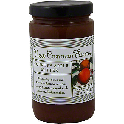 New Canaan Farms Country Apple Butter Jelly,10 OZ