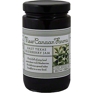 New Canaan Farms East Texas Blueberry Jam,10.7OZ
