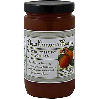 New Canaan Farms Fredericksburg Peach Jam,10.7OZ