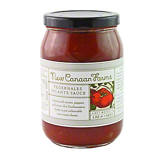 New Canaan Farms Pedernales Picante Sauce,20OZ