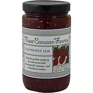 New Canaan Farms Raspberry Jam,1OZ