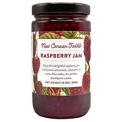 New Canaan Farms Raspberry Jam,1OZ