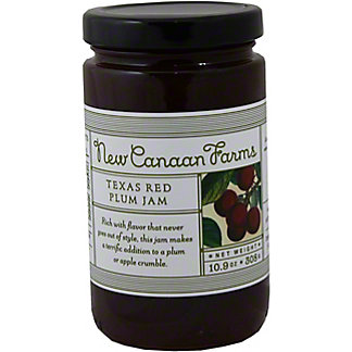 New Canaan Farms Texas Red Plum Jam,10.9OZ