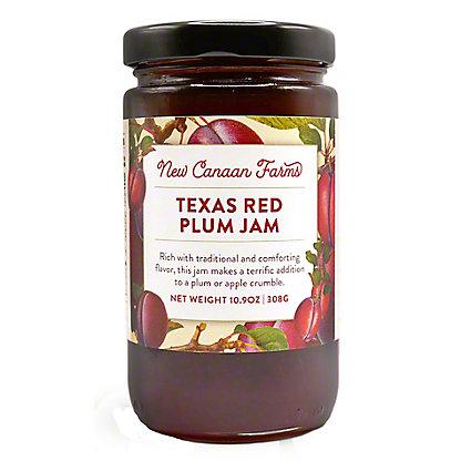 New Canaan Farms Texas Red Plum Jam,10.9OZ