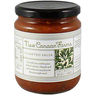 New Canaan Farms Cilantro Salsa, 15.9 oz