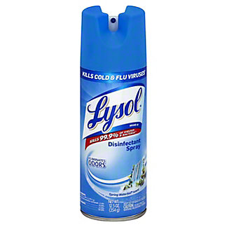 Lysol Spring Waterfall Scent Disinfectant Spray, 12.5 oz