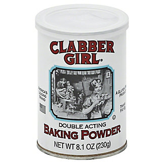Clabber Girl Double Acting Baking Powder, 8.1 oz