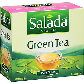 Salada Traditional 100% Green Tea, 40 ea