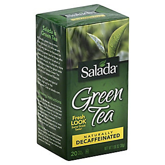 Salada Naturally Decaffeinated 100% Green Tea,20 CT