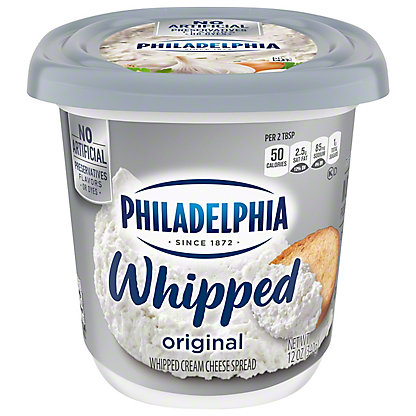 Kraft Philadelphia Whipped Cream Cheese Spread, 12 oz