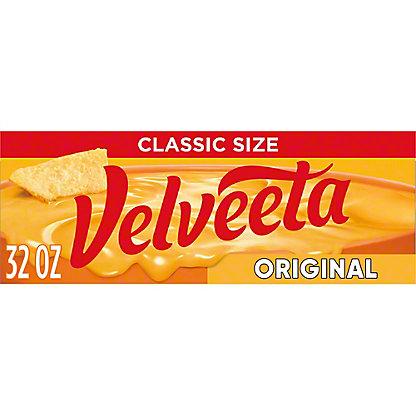 Kraft Velveeta Pasteurized Prepared Original Cheese,32 OZ