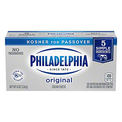 Kraft Philadelphia Original Cream Cheese, 8 oz