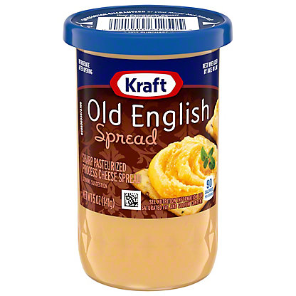 Kraft Old English Spread Sharp Pasteurized Process Cheese, 5OZ
